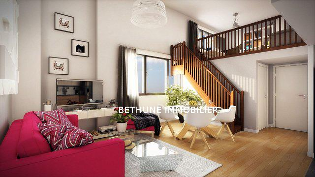 vente appartement 3 pi ces bethune b thune bruay. Black Bedroom Furniture Sets. Home Design Ideas